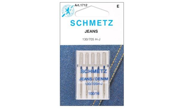 Euro-Notions 1712 Jean & Denim Machine Needles