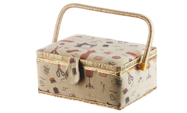 Storage Maid Sewing Basket with Travel Kit
