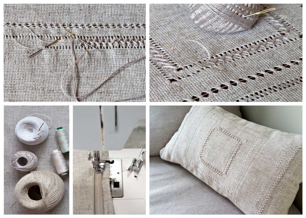 How to Close a Pillow with a Sewing Machine