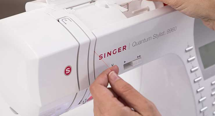 Computerized Portable Sewing Machine 2
