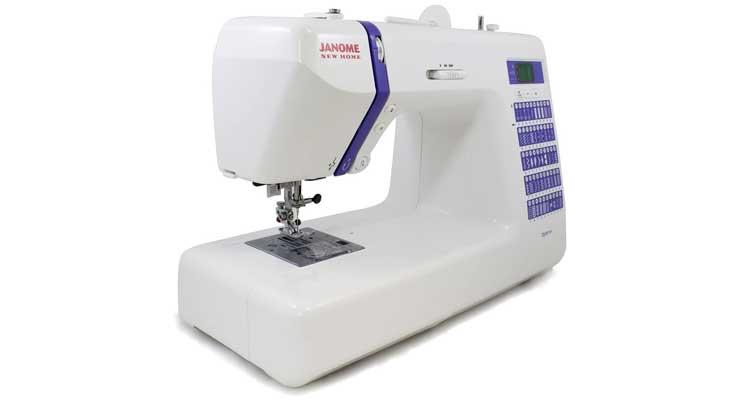 Janome 001DC2014 Computerized Sewing Machine Side