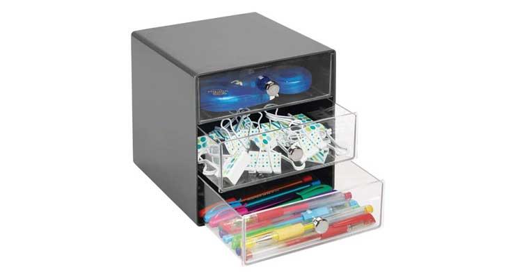 3-Drawer Craft Organizer Cube