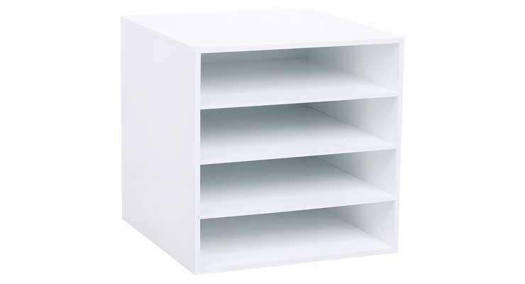 4-Shelf Craft Organizer Cube