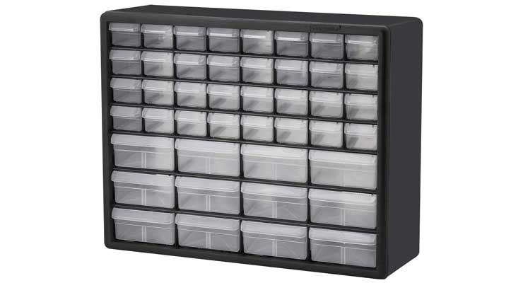 Akro-Mils 10144 D Hardware and Craft Cabinet