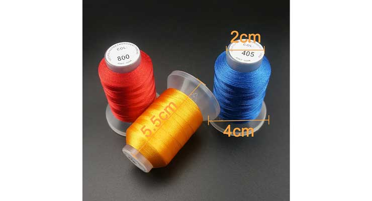 Brothread 40 Brother Colors Polyester Embroidery Machine Thread Kit Chart
