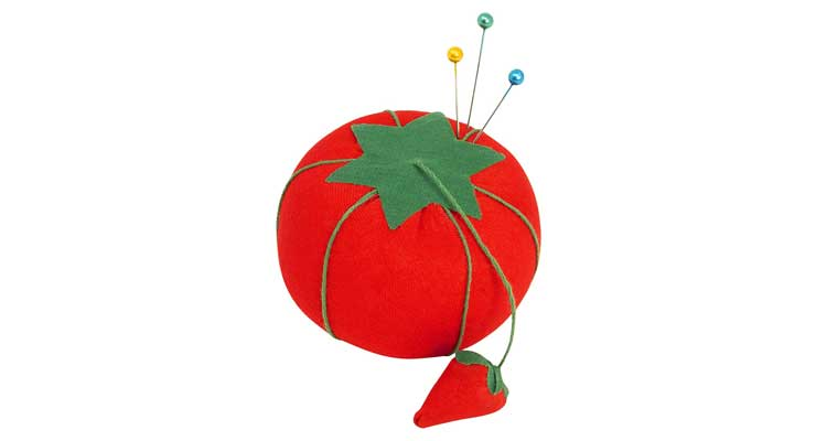 Dritz NR-356 Tomato Pin Cushion Red