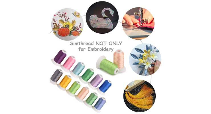 Embroidery Machine Thread Kit
