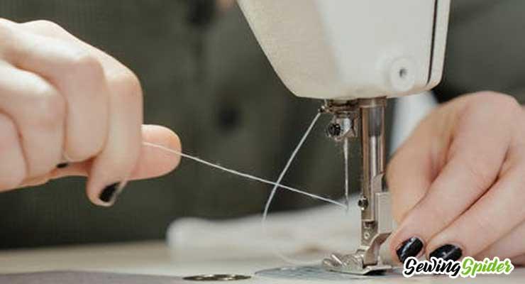 Hand-sweing-women-Thread