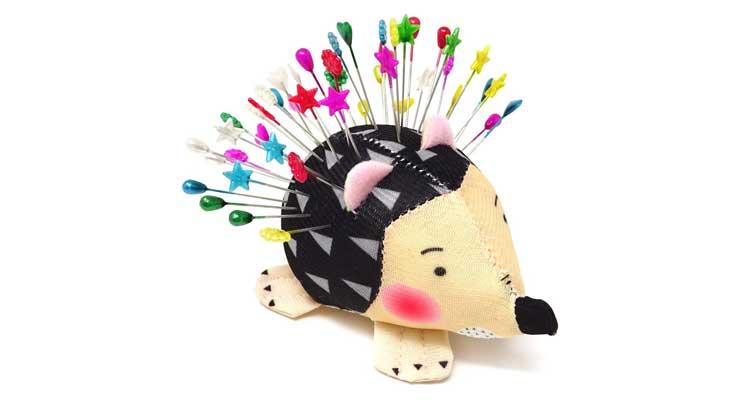 Honbay Cute Hedgehog Shape Pin Cushion