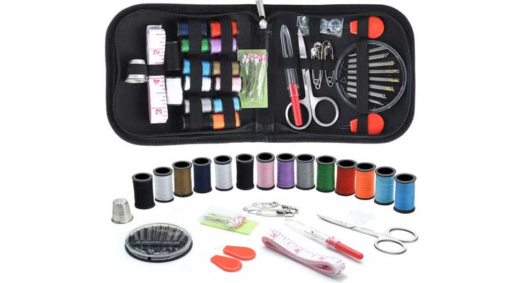 Marcoon Portable Mini Sewing Kit for Beginner