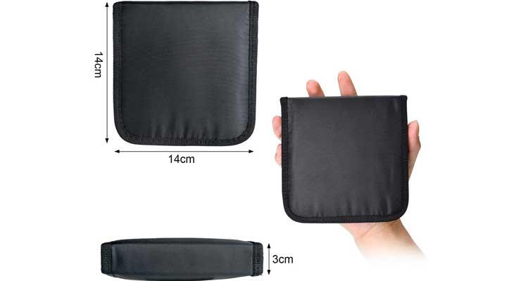 Marcoon Zipper Portable Mini Sewing Kits Size
