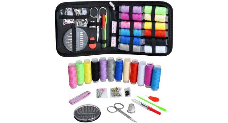 Marcoon Zipper Portable Mini Sewing Kits