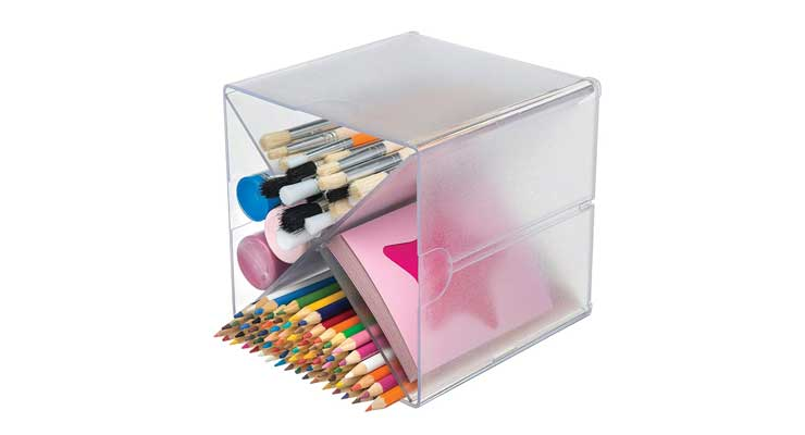 Multi-Shelf Craft Organizer Cube