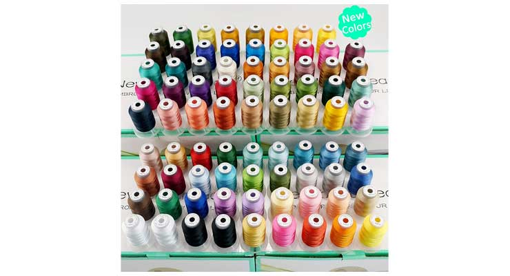 Polyester Embroidery Machine Thread Kit Collection