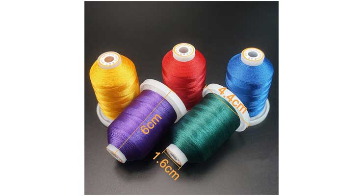Polyester Embroidery Machine Thread Kit Set