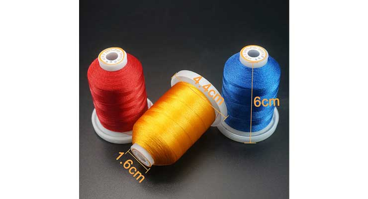 Polyester Embroidery Machine Thread Kit Size