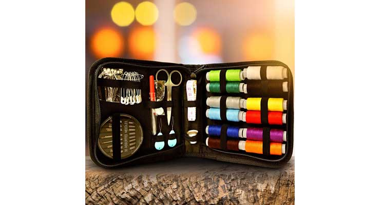Vellostar Portable Basic Sewing Kits Outdoor