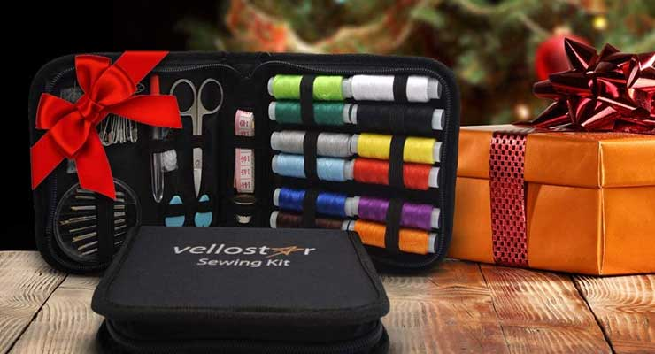 Vellostar Portable Basic Sewing Kits Set