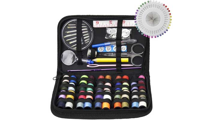 Weecosy Zipper Portable & Mini Sew Kits Set