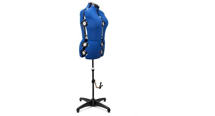 BHD BEAUTY 13 Dials Adjustable Mannequin Dress Form