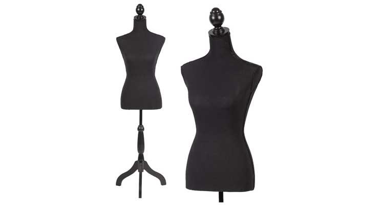 BMS Female Mannequin Torso Dress Form Manikin Body