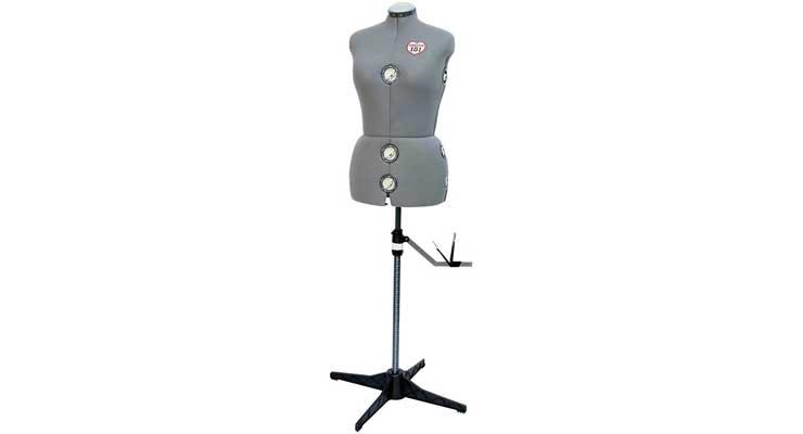 SINGER Grey Dress Form