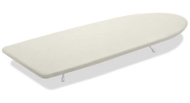 Whitmor Tabletop Ironing Board, Cream
