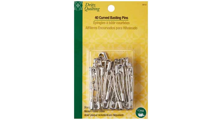 Dritz 3013 Curved Basting Safety Pins