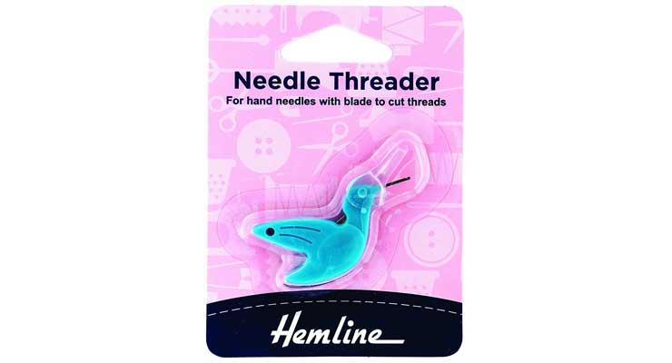 Hemline Hummingbird Needle Threader for Hand Needles