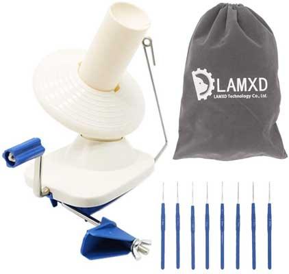 LAMXD Needlecraft Yarn Ball Winder Hand Operated