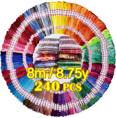 LE PAON Embroidery Floss 240 skeins
